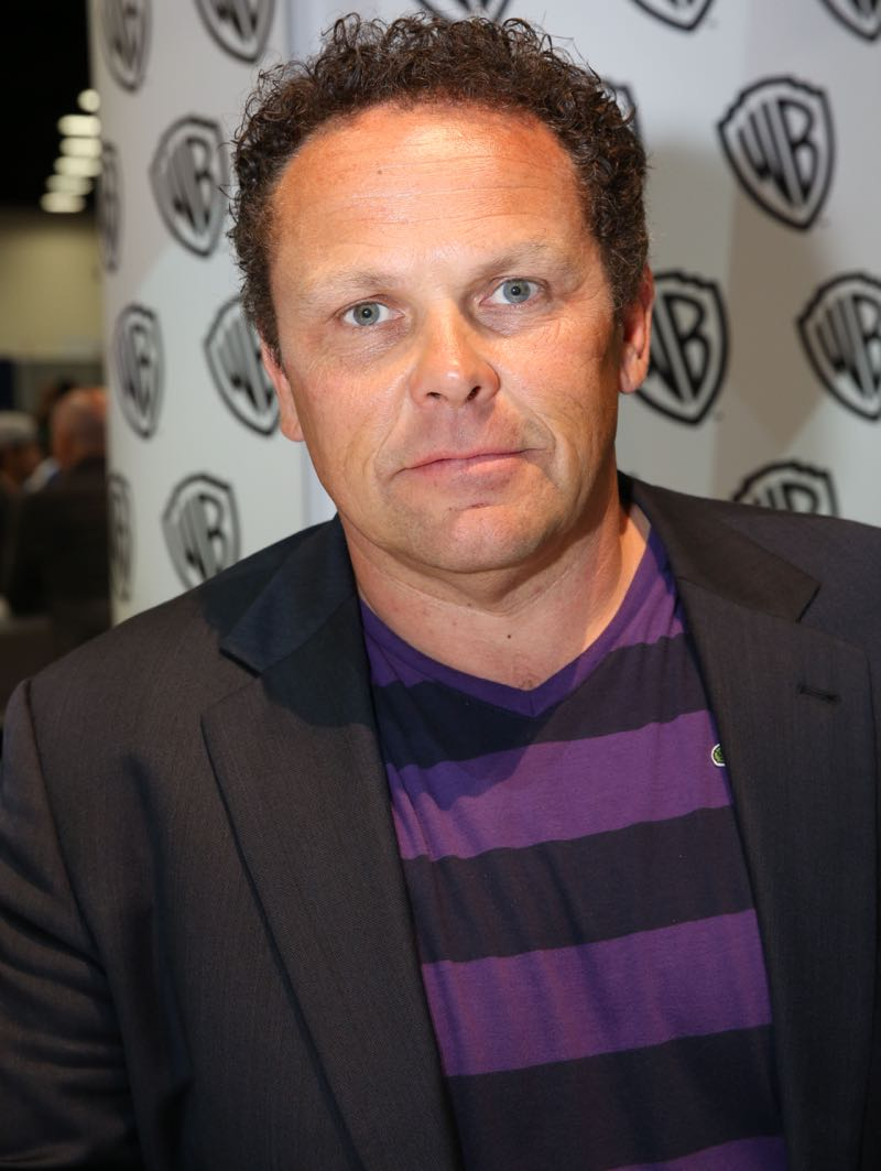 PERSON OF INTEREST star Kevin Chapman during the show's signing in the Warner Bros. booth on Saturday, July 11, at Comic-Con 2015. #WBSDCC (© 2015 WBEI. All Rights Reserved.)