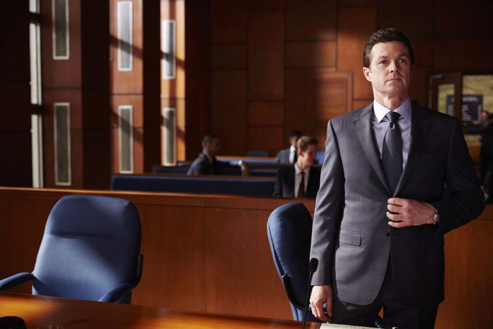 """SUITS -- """"Toe to Toe"""" Episode 505 -- Pictured: Eric Close as Travis Tanner -- (Photo by: Shane Mahood/USA Network)"""