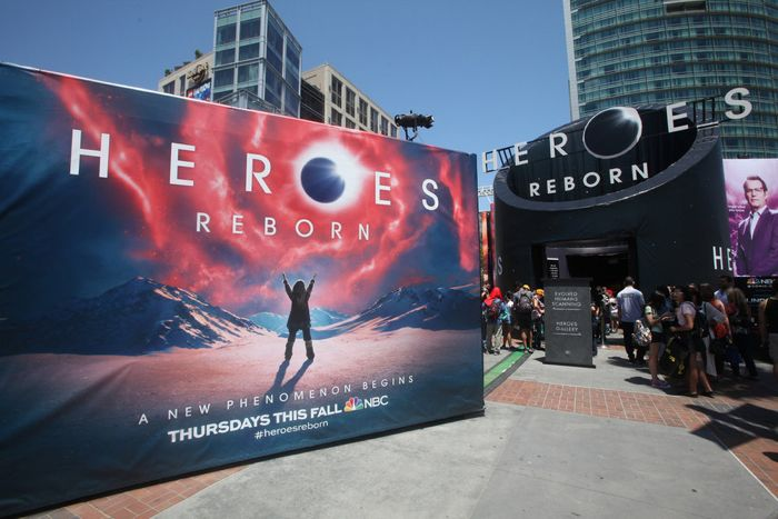 "COMIC-CON INTERNATIONAL: SAN DIEGO 2015 -- ""NBC at Comic-Con"" -- Pictured: ""Heroes Reborn"" installation, Thursday, July 9, 2015, from Tin Fish Gaslamp, San Diego, Calif. -- (Photo by: David Yeh/NBC)"