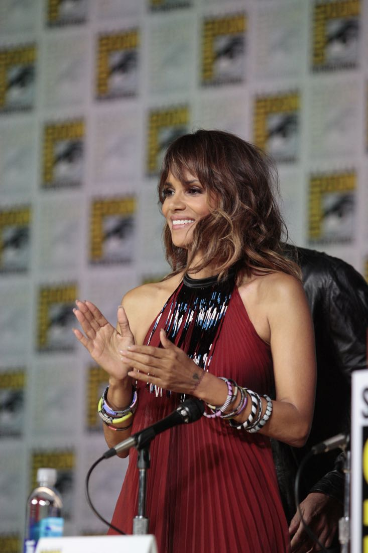 Halle Berry at the Extant Panel at COMIC CON 2015, held in San Diego, CA Photo: Francis Specker/CBS ©2015 CBS Broadcasting Inc. All Rights Reserved