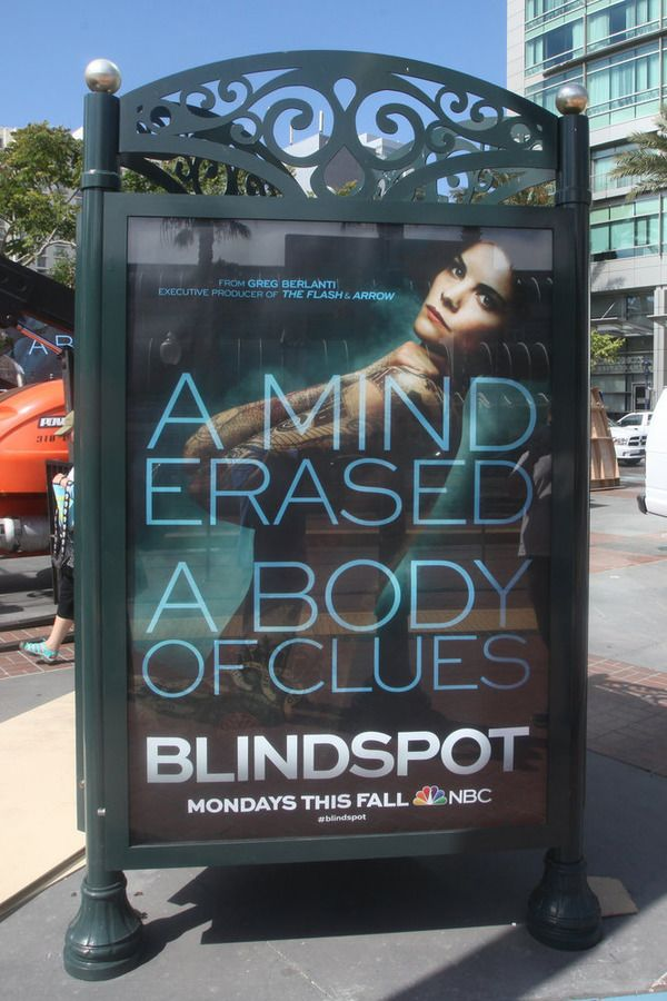 """COMIC-CON INTERNATIONAL: SAN DIEGO 2015 -- """"NBC at Comic-Con"""" -- Pictured: """"Blindspot"""", Wednesday, July 8, 2015, from Tin Fish Gaslamp, San Diego, Calif. -- (Photo by: David Yeh/NBC)"""
