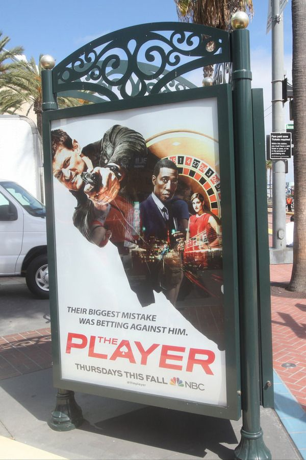 """COMIC-CON INTERNATIONAL: SAN DIEGO 2015 -- """"NBC at Comic-Con"""" -- Pictured: """"The Player"""", Wednesday, July 8, 2015, from Tin Fish Gaslamp, San Diego, Calif. -- (Photo by: David Yeh/NBC)"""