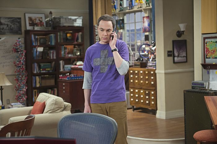 """""""The Matrimonial Momentum"""" -- Sheldon  (Jim Parsons, pictured) doesn't know how to act after Amy pushes pause on their relationship, on the ninth season premiere of THE BIG BANG THEORY, Monday, Sept. 21 (8:00-8:31 PM, ET/PT), on the CBS Television Network. Photo: Neil Jacobs/CBS ©2015 CBS Broadcasting, Inc. All Rights Reserved"""