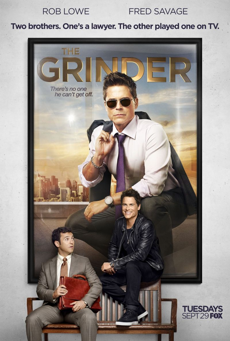 The Grinder Season 1 Poster FOX