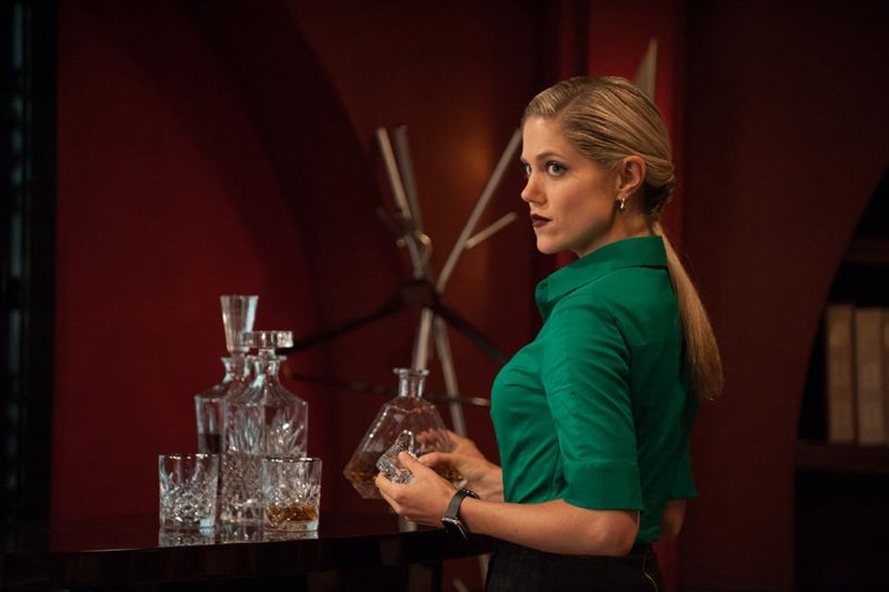 """THE PLAYER -- """"Ante Up"""" Episode 101-- Pictured: Charity Wakefield as Cassandra -- (Photo by: Colleen Hayes/NBC)"""