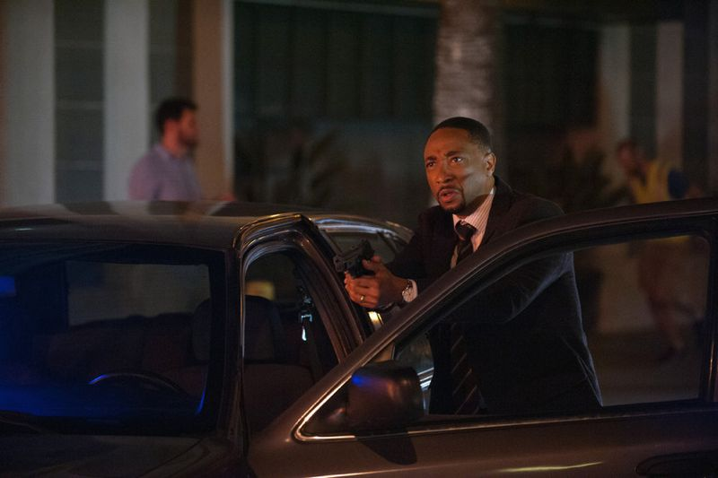 """THE PLAYER -- """"Ante Up"""" Episode 101 -- Pictured: Damon Gupton as Detective Brown -- (Photo by: Colleen Hayes/NBC)"""