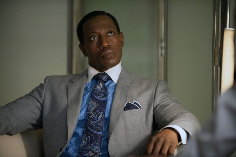 """THE PLAYER -- """"Ante Up"""" Episode 101 -- Pictured: Wesley Snipes as Mr. Johnson -- (Photo by: Colleen Hayes/NBC)"""