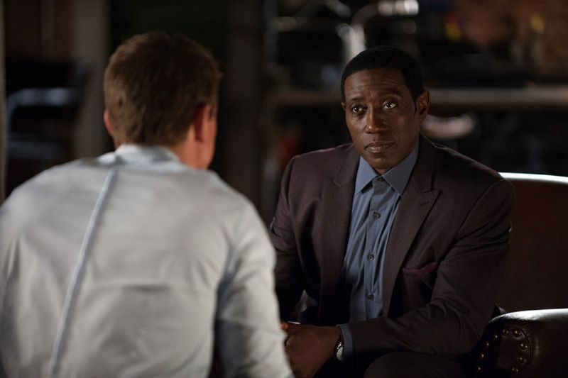 """THE PLAYER -- """"Ante Up"""" Episode 101-- Pictured: Wesley Snipes as Mr. Johnson -- (Photo by: Colleen Hayes/NBC)"""
