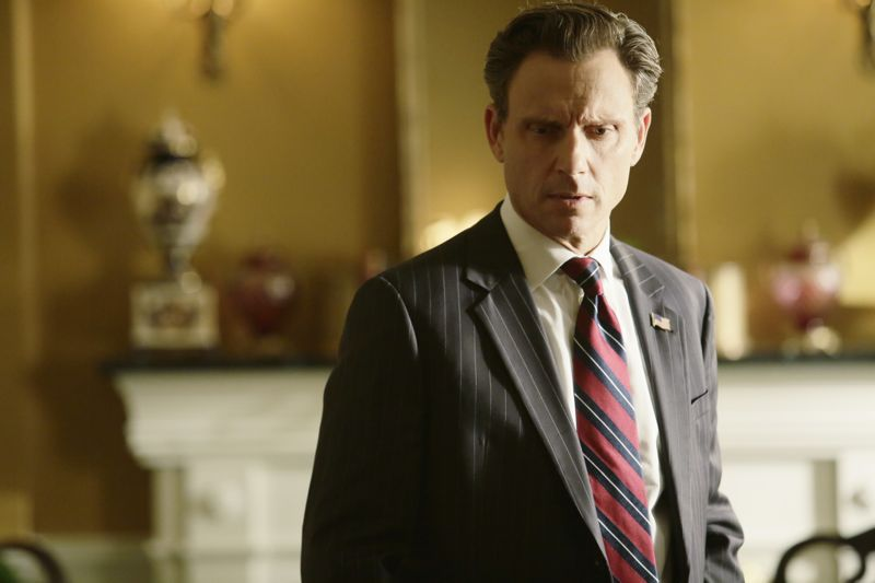 """SCANDAL - """"Paris is Burning"""" - Olivia and Fitz face some very big consequences and Mellie brings in an old friend to make sure she gets her way. Meanwhile, Abby shows Olivia she is fully capable of handling working at the White House, on """"Scandal,"""" THURSDAY OCTOBER 8 (9:00-10:00 p.m., ET) on the ABC Television Network. (ABC/Nicole Wilder) TONY GOLDWYN"""