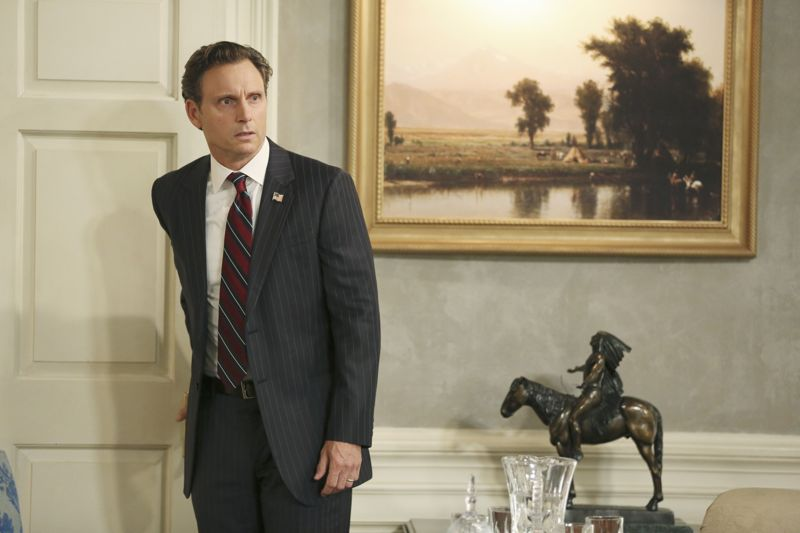 """SCANDAL - """"Paris is Burning"""" - Olivia and Fitz face some very big consequences and Mellie brings in an old friend to make sure she gets her way. Meanwhile, Abby shows Olivia she is fully capable of handling working at the White House, on """"Scandal,"""" THURSDAY OCTOBER 8 (9:00-10:00 p.m., ET) on the ABC Television Network. (ABC/John Fleenor) TONY GOLDWYN"""