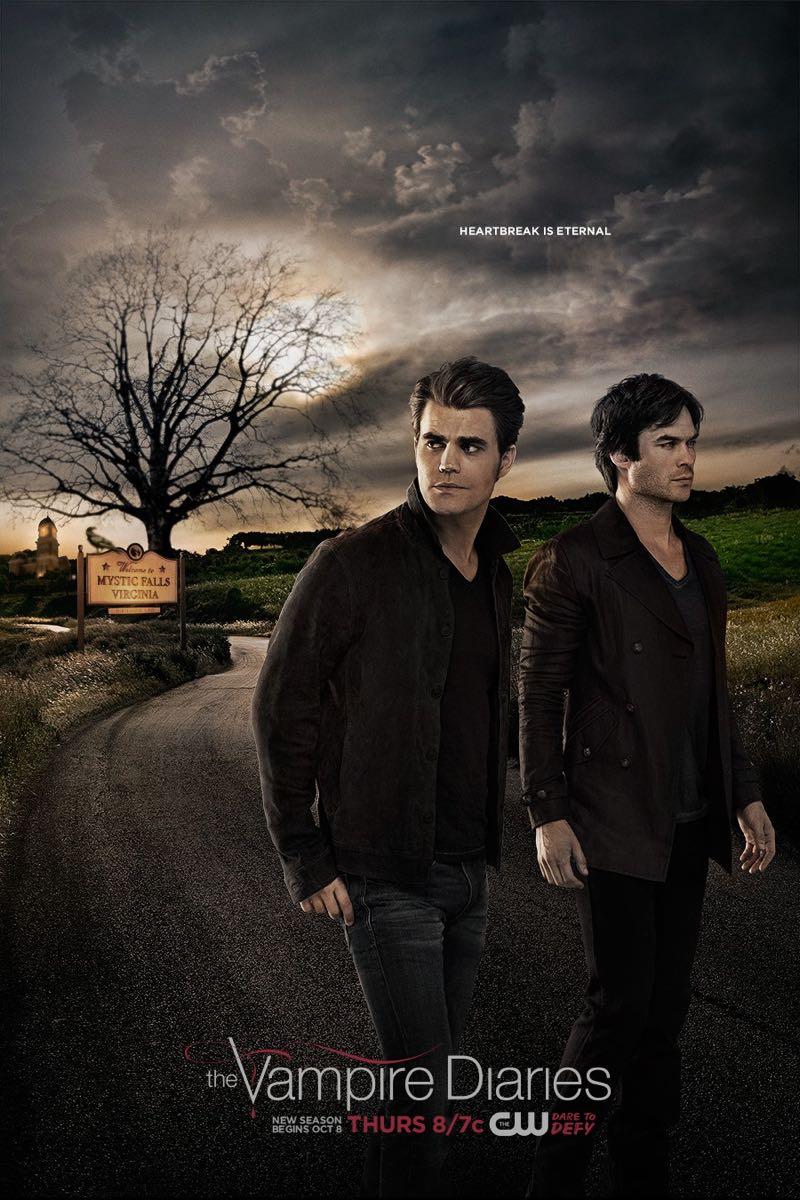 THE VAMPIRE DIARIES Season 7 Poster