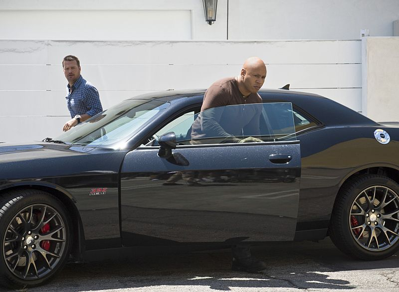 """Driving Miss Diaz"" -- Pictured: Chris O'Donnell (Special Agent G. Callen) and LL COOL J (Special Agent Sam Hanna). The NCIS Los Angeles team investigates a 20-year old Peruvian massacre after a well-known fashion model, believed to be one of the survivors, is now a potential target. Also, Kensi goes undercover as the model's assistant and Deeks as her chauffeur, on NCIS: LOS ANGELES, Monday, Oct. 5 (10:00-11:00 PM, ET/PT), on the CBS Television Network. Photo: Neil Jacobs/CBS ©2015 CBS Broadcasting, Inc. All Rights Reserved."