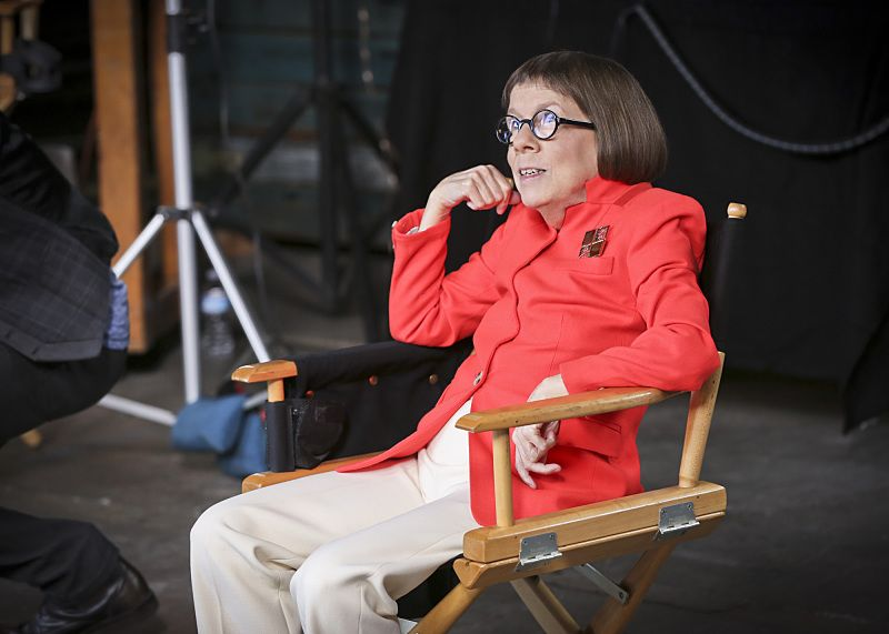 """Driving Miss Diaz"" -- Pictured: Linda Hunt (Henrietta ""Hetty"" Lange). The NCIS Los Angeles team investigates a 20-year old Peruvian massacre after a well-known fashion model, believed to be one of the survivors, is now a potential target. Also, Kensi goes undercover as the model's assistant and Deeks as her chauffeur, on NCIS: LOS ANGELES, Monday, Oct. 5 (10:00-11:00 PM, ET/PT), on the CBS Television Network. Photo: Monty Brinton/CBS ©2015 CBS Broadcasting, Inc. All Rights Reserved."