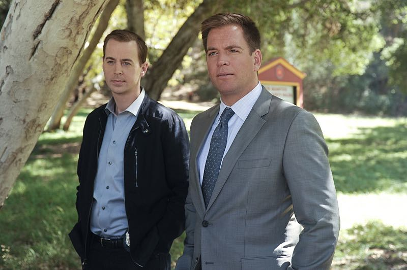 """""""Incognito"""" -- After a Marine is found murdered in Quantico hours after calling Gibbs to discuss a possible case, Bishop and McGee go undercover as a married couple to run surveillance on a Marine Lieutenant and his wife, on NCIS, Tuesday, Oct. 6 (8:00-9:00 PM, ET/PT), on the CBS Television Network. Pictured left to right: Sean Murray and Michael Weatherly Photo: Darren Michaels/CBS ©2015 CBS Broadcasting, Inc. All Rights Reserved"""