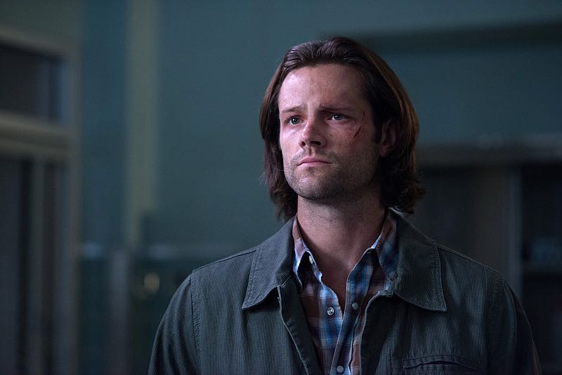 """Supernatural -- """"Out of the Darkness, Into the Fire"""" -- Image SN1102A_0314.jpg -- Pictured: Jared Padalecki as Sam -- Photo: Diyah Pera/The CW -- © 2015 The CW Network, LLC. All Rights Reserved."""