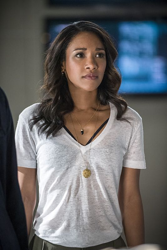 """The Flash -- """"The Man Who Saved Central City"""" -- Image FLA201b_0406b -- Pictured: Candice Patton as Iris West -- Photo: Cate Cameron /The CW -- © 2015 The CW Network, LLC. All rights reserved"""