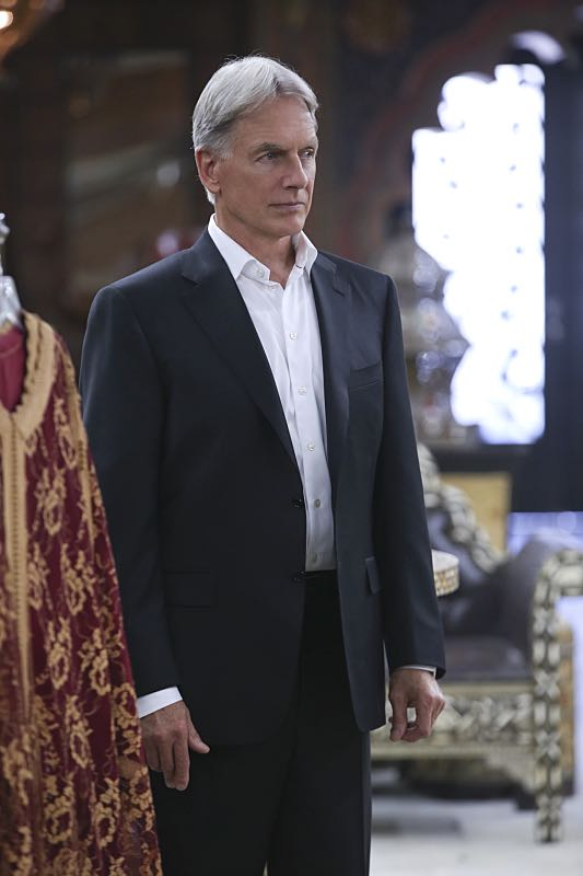 """Personal Day"" -- Gibbs (Mark Harmon, pictured) calls on the team to assist DEA Agent Luis Mitchell (John Gabriel) with a case that keeps going cold, but DiNozzo discovers there is more to Gibbs' personal connection to the agent and his desire to help him succeed. Also, the team gossips about Gibbs' new look after he replaces his standard military haircut and polo shirt for a modern cut and tailored dress shirt, on NCIS, Tuesday, Sept. 29 (8:00-9:00 PM, ET/PT), on the CBS Television Network. Photo: Monty Brinton/CBS ©2015 CBS Broadcasting, Inc. All Rights Reserved"
