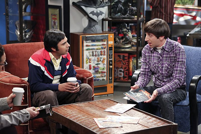 """The Separation Oscillation"" -- Leonard confronts the woman he kissed on the North Sea in an attempt to set Penny's mind at ease, on THE BIG BANG THEORY, Monday, Sept. 28 (8:00-8:31 PM, ET/PT), on the CBS Television Network. pictured left to right: Kunal Nayyar and Simon Helberg Photo: Michael Yarish/Warner Bros. Entertainment Inc. © 2015 WBEI. All rights reserved."