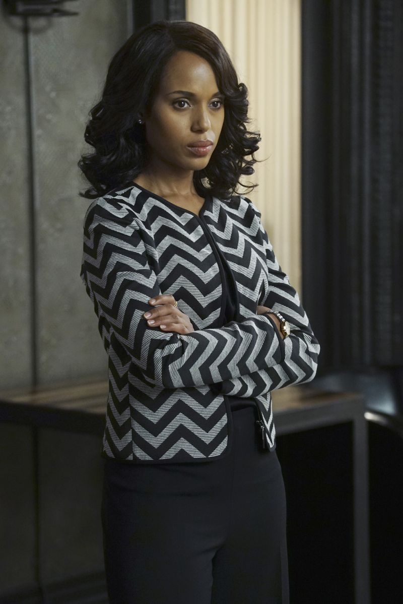"""SCANDAL - """"Even the Devil Deserves a Second Chance"""" - While Fitz is focused on winning back the American people, he makes a shocking discovery. Meanwhile, OPA takes on a new client, but Olivia seems preoccupied keeping her own secrets, and Elizabeth North sets her sights on a new agenda, on """"Scandal,"""" THURSDAY, NOVEMBER 5 (9:00-10:00 p.m., ET) on the ABC Television Network. (ABC/Eric McCandless) KERRY WASHINGTON"""
