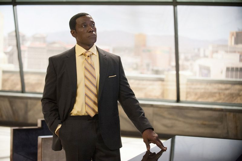 "THE PLAYER -- ""A House Is Not A Home"" Episode 106 -- Pictured: Wesley Snipes as Mr. Johnson -- (Photo by: Colleen Hayes/NBC)"