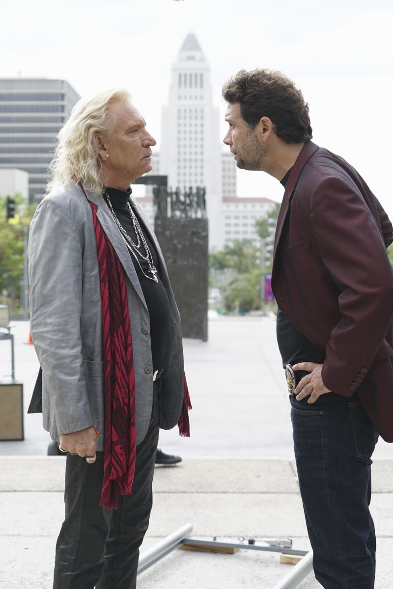 """WICKED CITY - """"Running with the Devil"""" - Jack and Paco get a lead on the serial killer's next possible victim and race against the clock to try and track her down before the killer gets to her; Kent struggles over whether or not to invite Betty to take part in his murderous rampage when it becomes clear that she doesn't trust him and may leave him, and Jack and Paco continue to search for Karen, who has disappeared from the club, on """"Wicked City,"""" TUESDAY, NOVEMBER 3 (10:00-11:00 p.m., ET) on the ABC Television Network. (ABC/Eric McCandless) JOE WALSH, JEREMY SISTO"""