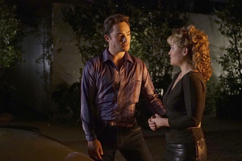 "WICKED CITY - ""Running with the Devil"" - Jack and Paco get a lead on the serial killer's next possible victim and race against the clock to try and track her down before the killer gets to her; Kent struggles over whether or not to invite Betty to take part in his murderous rampage when it becomes clear that she doesn't trust him and may leave him, and Jack and Paco continue to search for Karen, who has disappeared from the club, on ""Wicked City,"" TUESDAY, NOVEMBER 3 (10:00-11:00 p.m., ET) on the ABC Television Network. (ABC/Eric McCandless) ED WESTWICK, ERIKA CHRISTENSEN"