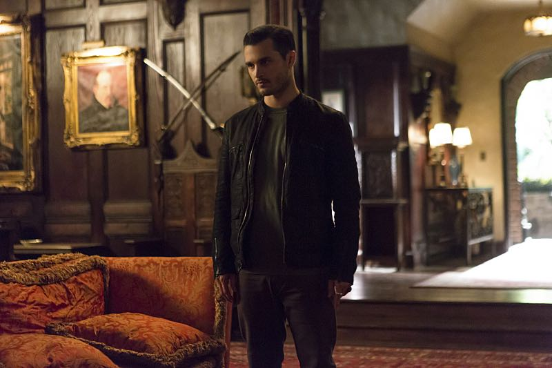 "The Vampire Diaries -- ""Live Through This"" -- Image Number: VD705a_0151.jpg -- Pictured: Michael Malarkey as Enzo -- Photo: Eli Joshua Adé/The CW -- © 2015 The CW Network, LLC. All rights reserved."