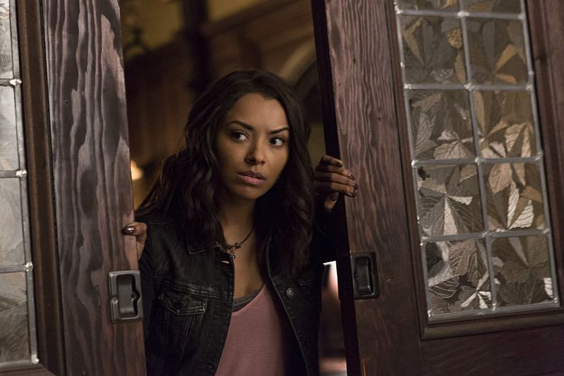 "The Vampire Diaries -- ""Live Through This"" -- Image Number: VD705a_0144.jpg -- Pictured: Kat Graham as Bonnie -- Photo: Eli Joshua Adé/The CW -- © 2015 The CW Network, LLC. All rights reserved."