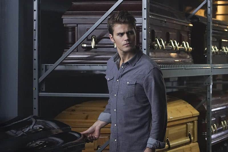 """The Vampire Diaries -- """"Live Through This"""" Paul Wesley as Stefan -- Photo: Annette Brown/The CW"""