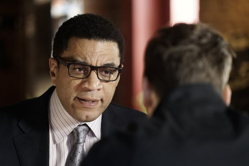"THE BLACKLIST -- ""Sir Crispin Crandall"" Episode 306 -- Pictured: Harry Lennix as Harold Cooper -- (Photo by: Peter Kramer/NBC)"