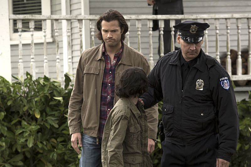 "Supernatural -- ""Thin Lizzie"" -- Image SN1105b_0074 -- Pictured (L-R): Jared Padalecki as Sam -- Photo: Katie Yu/The CW -- © 2015 The CW Network, LLC. All Rights Reserved."