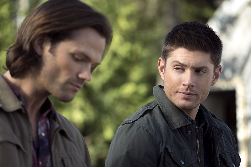 "Supernatural -- ""Thin Lizzie"" -- Image SN1105a_0083 -- Pictured (L-R): Jared Padalecki as Sam and Jensen Ackles as Dean -- Photo: Katie Yu/The CW -- © 2015 The CW Network, LLC. All Rights Reserved."