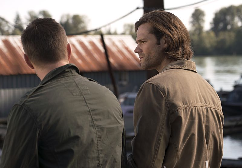 "Supernatural -- ""Thin Lizzie"" -- Image SN1105a_0040 -- Pictured (L-R): Jensen Ackles as Dean and Jared Padalecki as Sam -- Photo: Katie Yu/The CW -- © 2015 The CW Network, LLC. All Rights Reserved."