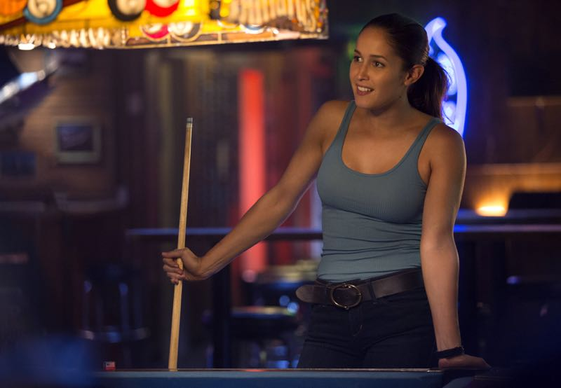 "ROSEWOOD: Jaina Lee Ortiz in the ""Policies and Ponies"" episode of ROSEWOOD airing Wednesday, Nov. 4 (8:00-9:00 PM ET/PT) on FOX. ©2015 Fox Broadcasting Co. Cr: John P. Fleenor/FOX."