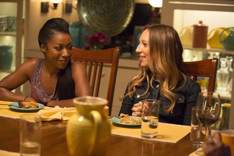 "ROSEWOOD: L-R: Gabrielle Dennis and Anna Konkle in the ""Policies and Ponies"" episode of ROSEWOOD airing Wednesday, Nov. 4 (8:00-9:00 PM ET/PT) on FOX. ©2015 Fox Broadcasting Co. Cr: John P. Fleenor/FOX."