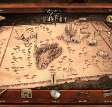 Universal Studios Hollywood THE WIZARDING WORLD OF HARRY POTTER Interactive Website