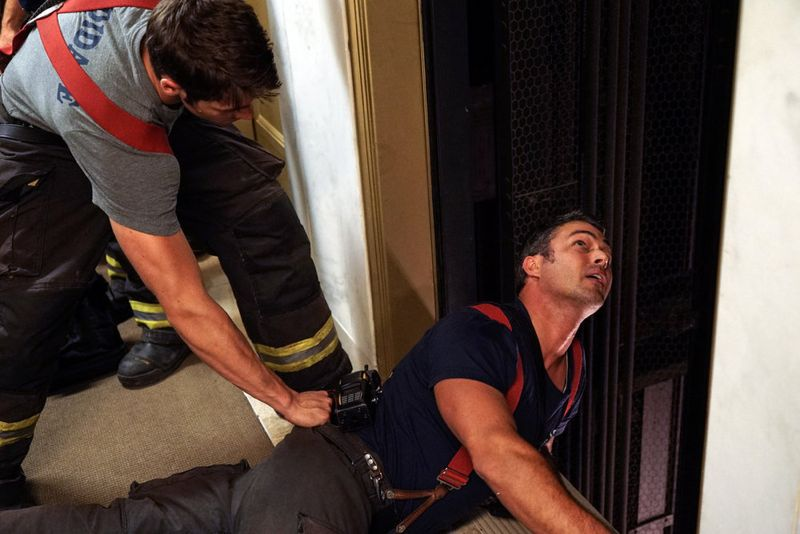 "CHICAGO FIRE -- ""I Walk Away"" Episode 403 -- Pictured: Taylor Kinney as Kelly Severide -- (Photo by: Elizabeth Morris/NBC)"