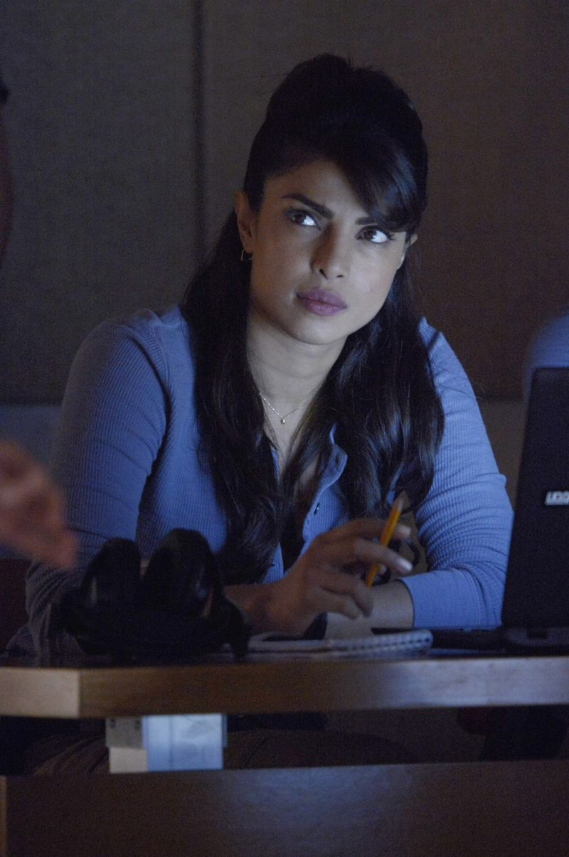 """QUANTICO - """"God"""" - The NATs learn surveillance by putting it into practice with Miranda and her troubled son, Charlie. Shelby tries to keep Caleb at a distance, but Raina opens the door to a closer relationship with Simon. In the future, Alex is helped when she tries to hack into an FBI computer, on """"Quantico,"""" SUNDAY, NOVEMBER 1 (10:01-11:00 p.m., ET) on the ABC Television Network. (ABC/Phillipe Bosse) PRIYANKA CHOPRA"""