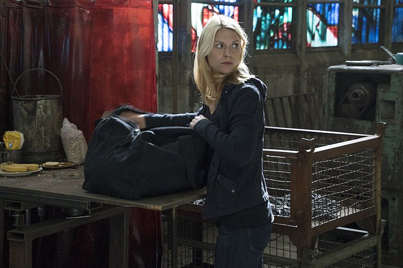 Claire Danes as Carrie Mathison in Homeland (Season 5, Episode 5). - Photo: Stephan Rabold/SHOWTIME - Photo ID: Homeland_505_1306.R