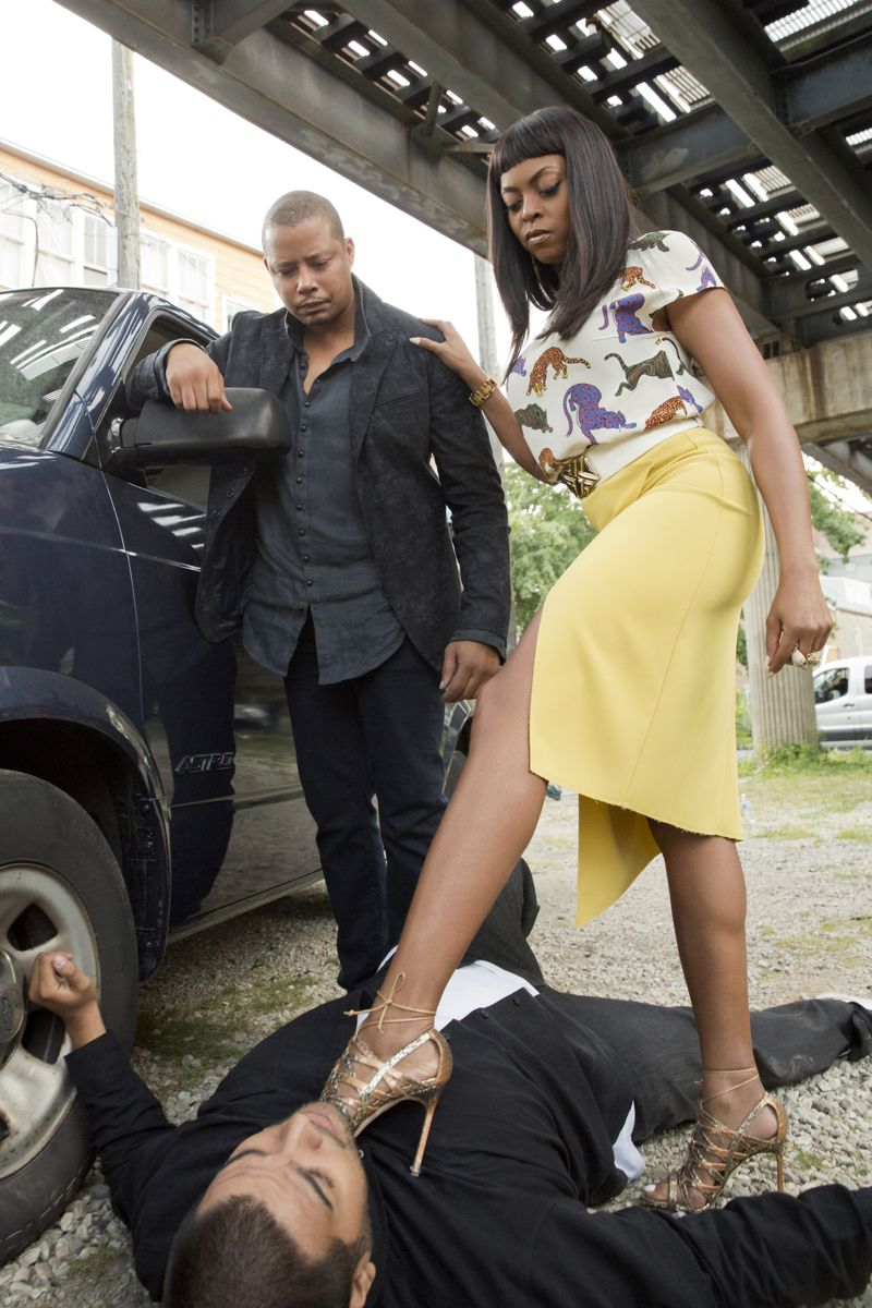 """EMPIRE: L-R: Terrence Howard and Taraji P. Henson in the """"A High Hope For A Low Heaven"""" episode of EMPIRE airing Wednesday, Nov. 4 (9:00-10:00 PM ET/PT) on FOX. ©2015 Fox Broadcasting Co. Cr: Chuck Hodes/FOX."""
