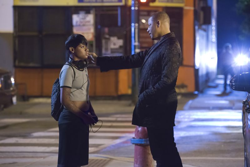 """EMPIRE: L-R: Guest star Bre-Z and Terrence Howard in the """"A High Hope For A Low Heaven"""" episode of EMPIRE airing Wednesday, Nov. 4 (9:00-10:00 PM ET/PT) on FOX. ©2015 Fox Broadcasting Co. Cr: Chuck Hodes/FOX."""