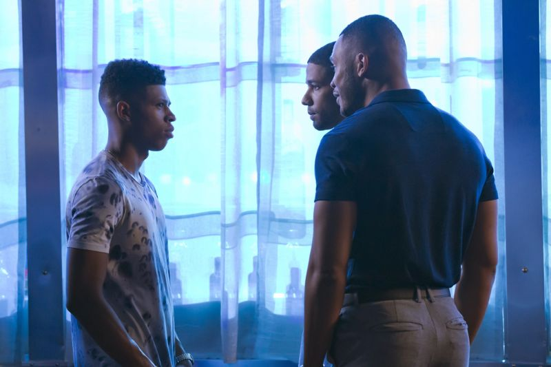 """EMPIRE: L-R: Bryshere Gray, Jussie Smollett and Trai Byers in the """"A High Hope For A Low Heaven"""" episode of EMPIRE airing Wednesday, Nov. 4 (9:00-10:00 PM ET/PT) on FOX. ©2015 Fox Broadcasting Co. Cr: Chuck Hodes/FOX."""
