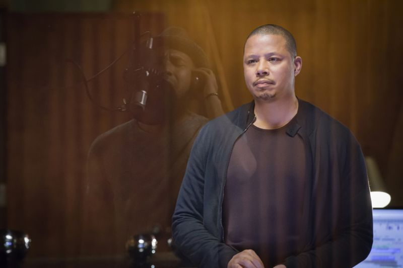 """EMPIRE: L-R: Jussie Smollett and Terrence Howard in the """"A High Hope For A Low Heaven"""" episode of EMPIRE airing Wednesday, Nov. 4 (9:00-10:00 PM ET/PT) on FOX. ©2015 Fox Broadcasting Co. Cr: Chuck Hodes/FOX."""