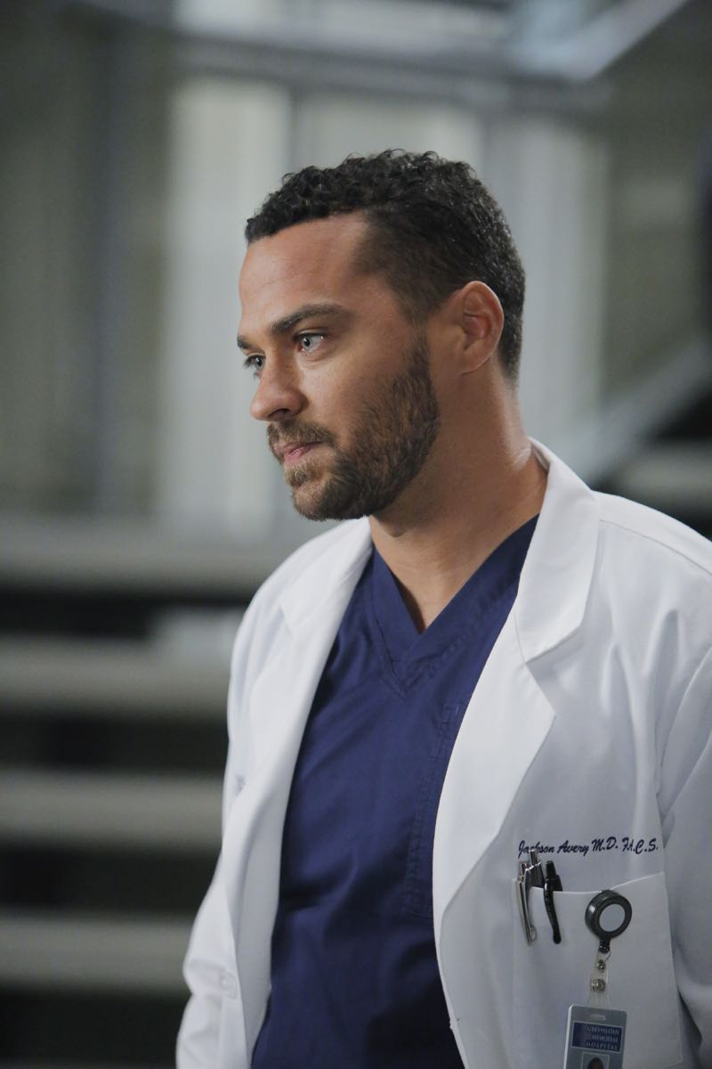 """GREY'S ANATOMY - """"The Me Nobody Knows"""" - Grey Sloan Memorial not only welcomes a new transfer resident, but also a patient who's the topic of conversation after accidently sending his sex tape to his entire congregation. Meanwhile, Richard wrestles with how to progress his relationship with Maggie when an old friend visits the hospital, and April brings in a case of a young boy from the Middle-East, on """"Grey's Anatomy,"""" THURSDAY, NOVEMBER 5 (8:00--9:00 p.m., ET) on the ABC Television Network. (ABC/Tony Rivetti) JESSE WILLIAMS"""