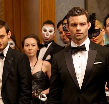"The Originals -- ""A Walk on the Wild Side"" Pictured (L-R): Oliver Ackland as Tristan and Daniel Gillies as Elijah -- Photo: Annette Brown/The CW -- © 2015 The CW Network, LLC. All rights reserved."