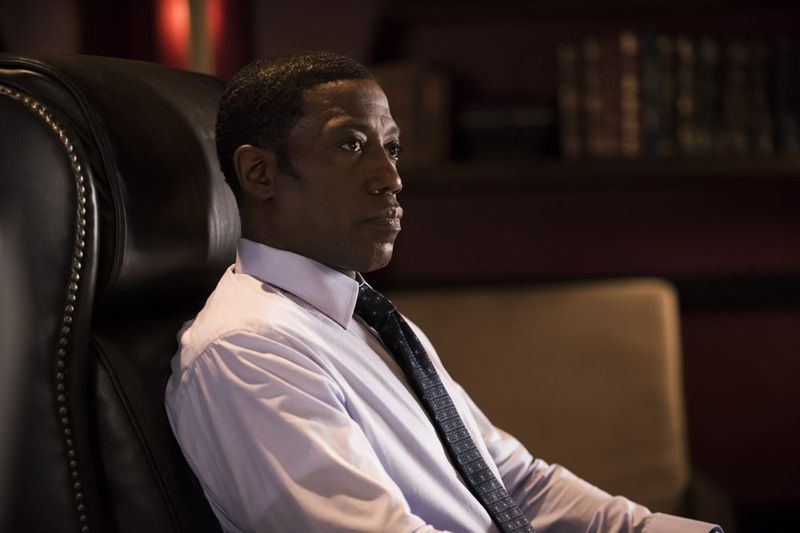 "THE PLAYER -- ""The Norseman"" Episode 105 -- Pictured: Wesley Snipes as Mr. Johnson -- (Photo by: Brandon Hickman/NBC)"