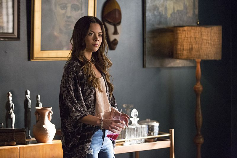 """The Vampire Diaries -- """"I Carry Your Heart With Me"""" -- Image Number: VD704b_0107.jpg -- Pictured: Scarlett Byrne as Nora -- Photo: Bob Mahoney/The CW -- © 2015 The CW Network, LLC. All rights reserved."""