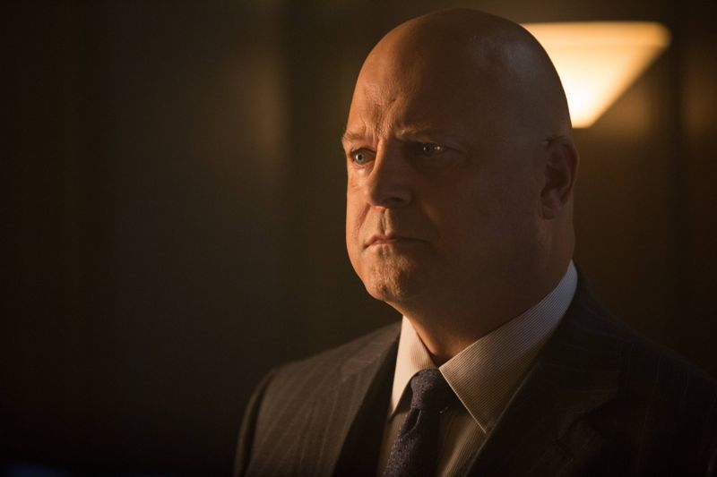 "GOTHAM: L-R: Michael Chiklis in the ""Rise of the Villains: By Fire"" episode of GOTHAM airing Monday, Oct. 26 (8:00-9:00 PM ET/PT) on FOX. ©2015 Fox Broadcasting Co. Cr: Jessica Miglio/ FOX."