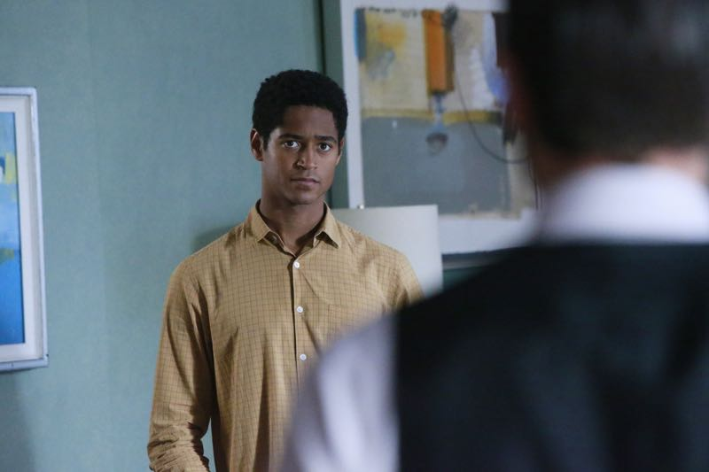 """HOW TO GET AWAY WITH MURDER - """"Two Birds, One Millstone"""" - Annalise takes on a new client, a transgender professor accused of killing her husband. Meanwhile, the Keating 5 are left to handle the Hapstall case and they discover a shocking new suspect, on  """"How to Get Away with Murder,"""" THURSDAY OCTOBER 29 (10:00-11:00 p.m., ET) on the ABC Television Network. (ABC/Mitch Haaseth) ALFRED ENOCH"""