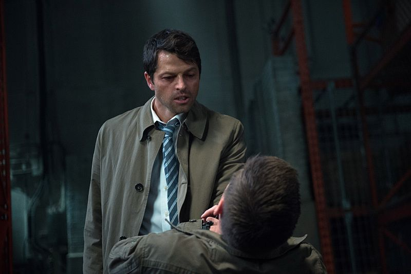 "Supernatural -- ""The Bad Seed"" -- Image SN1101B_0163.jpg -- Pictured (L-R): Misha Collins as Castiel -- Photo: Diyah Pera /The CW -- © 2015 The CW Network, LLC. All Rights Reserved."
